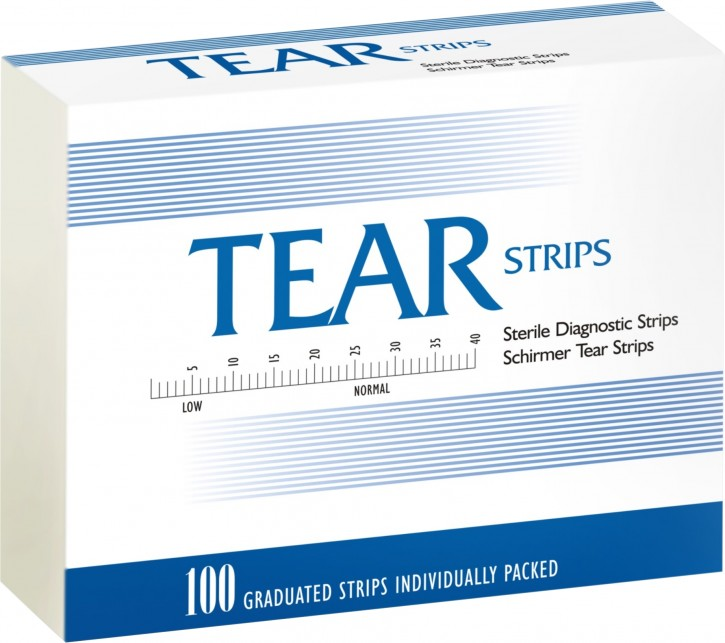 Tear Strip Schirmertest